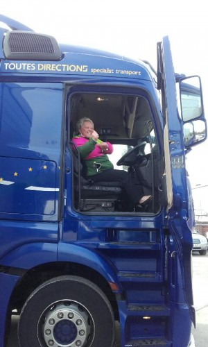 Diane, one of our Senior Consultants, showing her new client that she knows about drivers :)